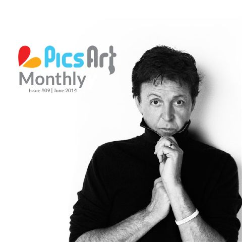 June Issue of PicsArt Monthly Art Magazine