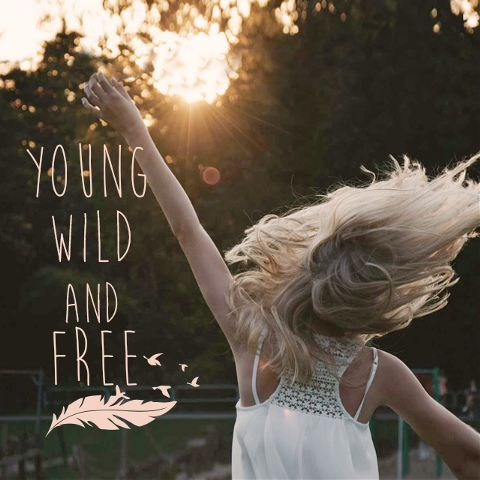 young wild and free clipart package