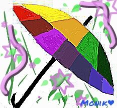 Umbrella drawing art contest