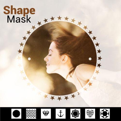 Shape mask photo editing