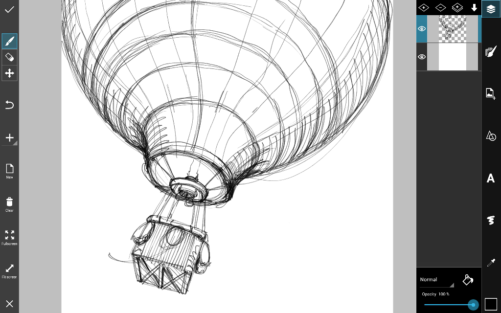 how to draw a hot air balloon step by step create