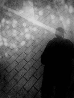 black & white bokeh shadow selfie summer