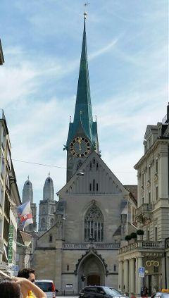 fraumuenster church zurich structure fraumuenster