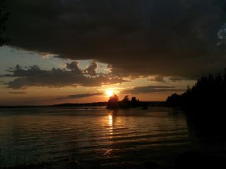 sunset nature photography travel finland