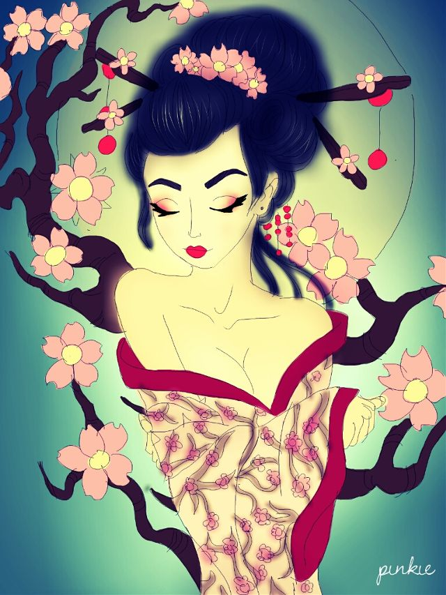 geisha drawing contest winners
