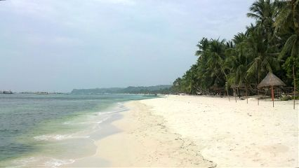 boracay old photo philippines whitebeach love