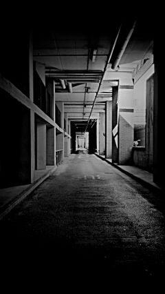 black & white hdr photography italy underground