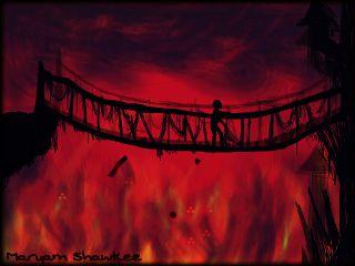 scary bridge artwork :o