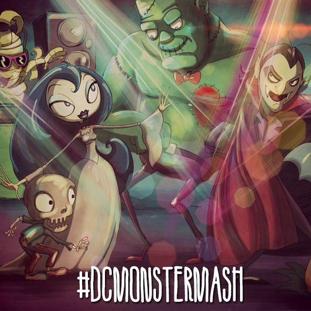 Monster Mash Drawing Challenge