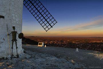 photography consuegra sunset windmills travel