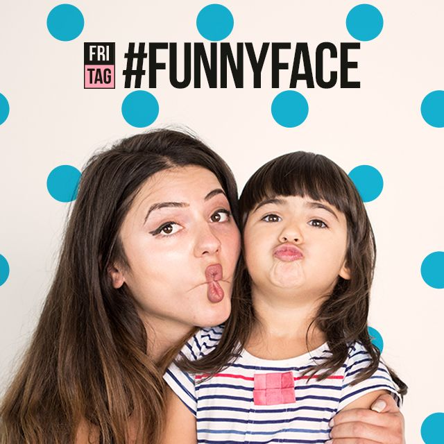 hash tag funny face