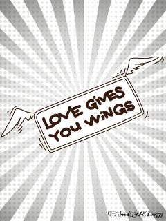 february love wings