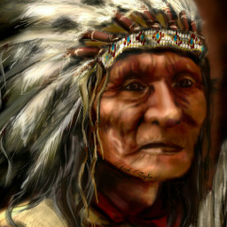 dcfeather drawing art people nativeamerican