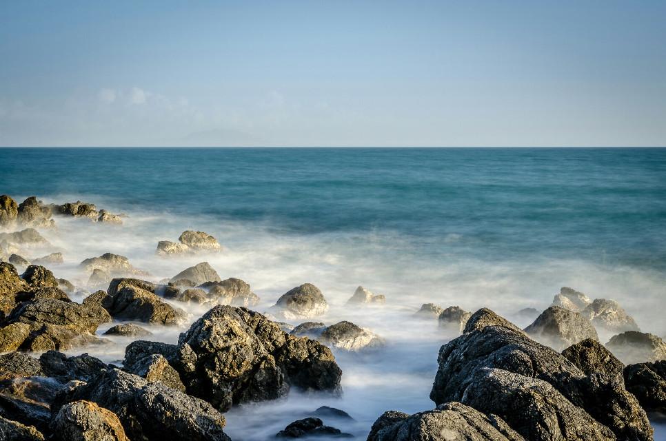 #beach #rocks #longexposure #water #photography
