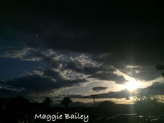 lasvegas sunset